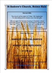 Harvest 2019 events